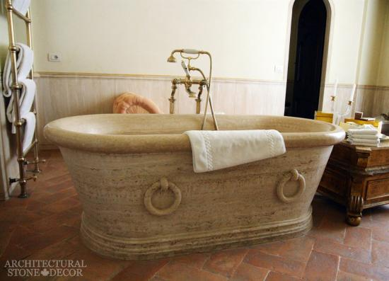 architectural stone decor | bathtubs and showers, marble bathtub