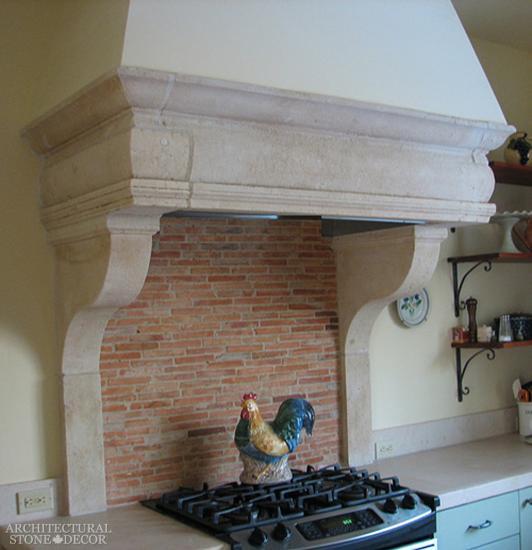 KITCHEN COUNTERTOPS And HOODS, Stone Kitchen Hood, Stone
