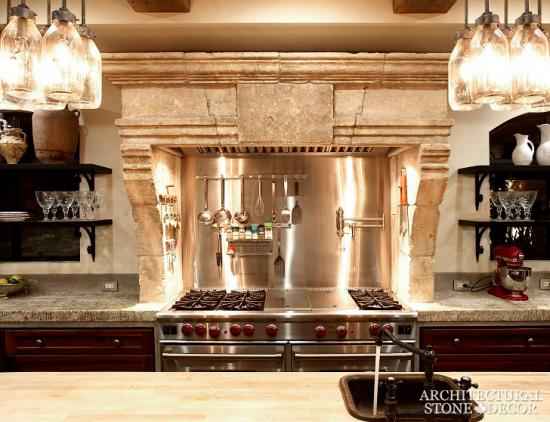 architectural stone decor | kitchen countertops and hoods, stone